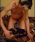 Zoophilie gratuite chat